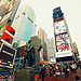 Times Square New York Red Stairs TKTS