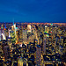 Downtown Manhattan New York Skyline