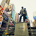 Times Square New York George M Cohan Statue