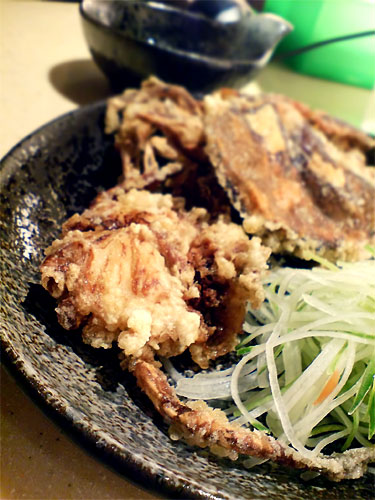 Soft shell crab at Sakae Sushi