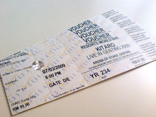 Kitaro tickets