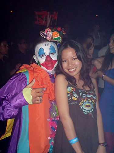 Clown and Kah Wai