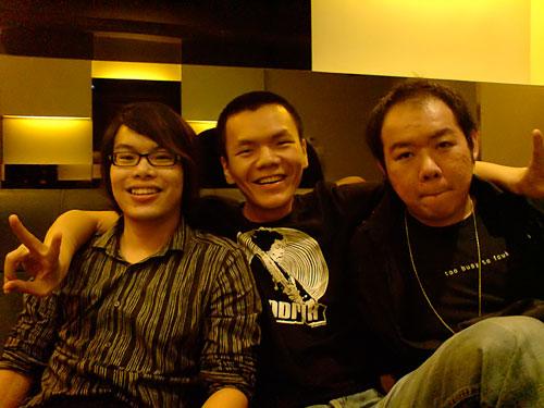 Nicholas, Jenn Ting and Kevin