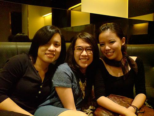 Sophea, Angra and Kah Wai