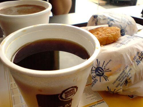 McD coffee
