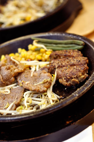 Pepper lunch beef set