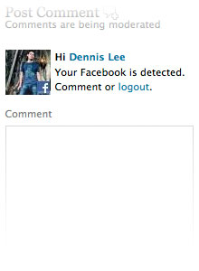 Facebook detected