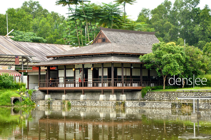 Yuritei Japanese restaurant at Sentul Park.