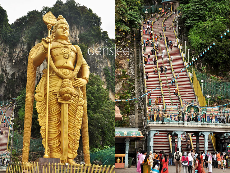 Murugan Statue and 272 steps.